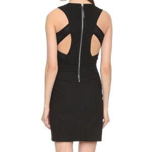 HELMUT LANG Cut Out Compression Sleeveless Dress